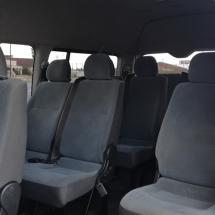 2013 14 seater interior